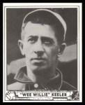 1940 Play Ball Reprint #237  Willie Keeler  Front Thumbnail