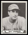 1940 Play Ball Reprint #210  Bill Lohman  Front Thumbnail
