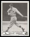 1940 Play Ball Reprint #205  Rollie Hemsley  Front Thumbnail