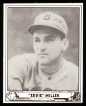 1940 Play Ball Reprint #56  Ed Miller  Front Thumbnail