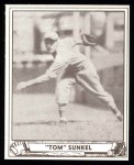 1940 Play Ball Reprint #110  Tom Sunkel  Front Thumbnail