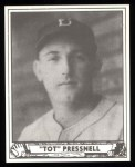 1940 Play Ball Reprint #146  Tot Pressnell  Front Thumbnail