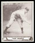 1940 Play Ball Reprint #64  Van Mungo   Front Thumbnail