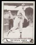 1940 Play Ball Reprint #70  Jonas Hamlin  Front Thumbnail