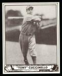 1940 Play Ball Reprint #61  Tony Cuccinello  Front Thumbnail