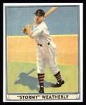 1941 Play Ball Reprint #17  Roy Weatherly  Front Thumbnail