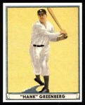 1941 Play Ball Reprint #18  Hank Greenberg  Front Thumbnail