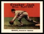 1915 Cracker Jack Reprint #39  Chick Gandil  Front Thumbnail