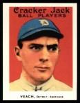 1915 Cracker Jack Reprint #174  Robert Veach  Front Thumbnail