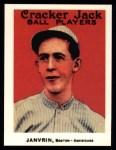 1915 Cracker Jack Reprint #149  Hal Janvrin  Front Thumbnail