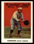 1915 Cracker Jack Reprint #27  Bill Carrigan  Front Thumbnail