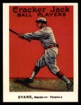 1915 Cracker Jack Reprint #128  Steve Evans  Front Thumbnail