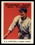1915 Cracker Jack Reprint #84  Elmer E. Knetzer  Front Thumbnail