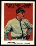 1915 Cracker Jack Reprint #98  Frank LaPorte  Front Thumbnail
