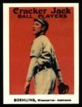1915 Cracker Jack Reprint #72  John Boehling  Front Thumbnail