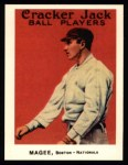 1915 Cracker Jack Reprint #108  Sherry Magee  Front Thumbnail