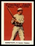 1915 Cracker Jack Reprint #118  Ed Konetchy  Front Thumbnail