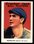 1915 Cracker Jack Reprint #154  Dick Rudolph  Front Thumbnail