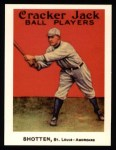 1915 Cracker Jack Reprint #86  Burt Shotton  Front Thumbnail