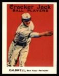 1915 Cracker Jack Reprint #129  Ray Caldwell  Front Thumbnail