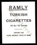 1909 T204 Ramly Reprint #67  Ed Konetchy  Back Thumbnail