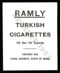 1909 T204 Ramly Reprint #110  Tubby Spencer  Back Thumbnail