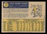 1970 O-Pee-Chee #127  Joe Coleman  Back Thumbnail
