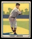 1941 Play Ball #12  Jimmy Brown  Front Thumbnail
