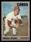 1970 O-Pee-Chee #435  Nelson Briles  Front Thumbnail