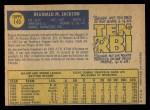 1970 O-Pee-Chee #140  Reggie Jackson  Back Thumbnail