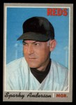 1970 O-Pee-Chee #181  Sparky Anderson  Front Thumbnail