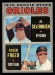 1970 O-Pee-Chee #477   -  Al Severinsen / Roger Freed Orioles Rookies Front Thumbnail