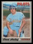 1970 O-Pee-Chee #514  Steve Hovley  Front Thumbnail