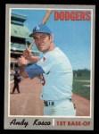 1970 O-Pee-Chee #535  Andy Kosco  Front Thumbnail