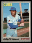 1970 O-Pee-Chee #170  Billy Williams  Front Thumbnail