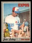 1970 O-Pee-Chee #238  Jose Laboy  Front Thumbnail