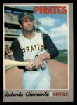 1970 O-Pee-Chee #350  Roberto Clemente  Front Thumbnail