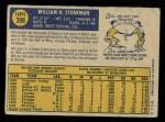 1970 O-Pee-Chee #398  Bill Stoneman  Back Thumbnail