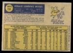1970 O-Pee-Chee #253  Ron Woods  Back Thumbnail