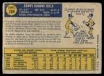 1970 O-Pee-Chee #288  Larry Hisle  Back Thumbnail