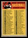 1970 O-Pee-Chee #128   Checklist 133-263 Front Thumbnail