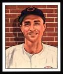 1950 Bowman REPRINT #197  Johnny Wyrostek  Front Thumbnail