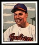 1950 Bowman REPRINT #130  Dale Mitchell  Front Thumbnail
