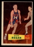 1957 Topps #50  Richie Regan  Front Thumbnail