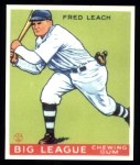 1933 Goudey Reprint #179  Fred Leach  Front Thumbnail