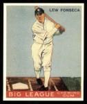 1933 Goudey Reprint #43  Lew Fonseca  Front Thumbnail
