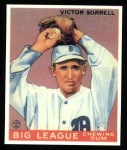 1933 Goudey Reprint #15  Vic Sorrell  Front Thumbnail