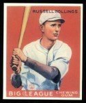 1933 Goudey Reprint #88  Russell Rollings  Front Thumbnail