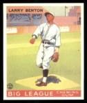 1933 Goudey Reprint #45  Larry Benton  Front Thumbnail