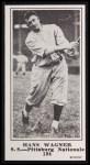 1916 M101-5 Blank Back Reprint #184  Hans Wagner  Front Thumbnail
